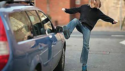 Пьяный житель Гомельщины повредил в Могилёве несколько автомобилей – бил ногами