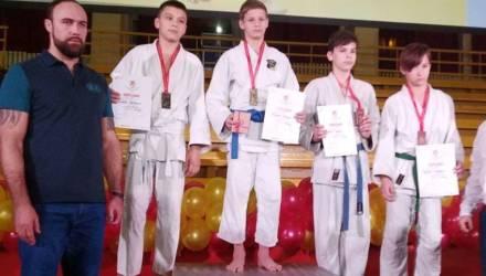 Полный комплект медалей – у юных дзюдоистов из Бобруйска в Риге