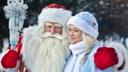 На вертолете прилетит Дед Мороз на открытие новогодней программы в Могилёве