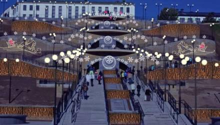 Оформить Могилёв к новогодним праздникам планируют к 5 декабря