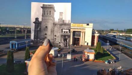 Возвращение «реликвий»: в Могилёве установили стенды, рассказывающие об утраченных памятниках архитектуры