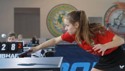 Международный мемориал имени Тани Карпинской по настольному теннису пройдёт в Могилёве