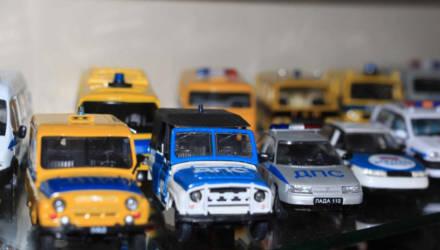 Пенсионер МВД собрал коллекцию из 900 мини-моделей автомобилей