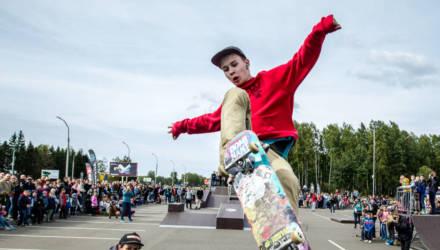 ТЦ в Могилёве полгода пытается подарить городу скейт-парк. Чиновники не знают, что с ним делать