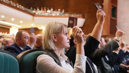 В Могилёве во Дворце культуры области проходят выборы членов Совета Республики