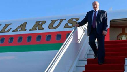 Лукашенко прилетел в Австрию: кто встречал президента в аэропорту Вены