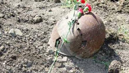 В Могилёвском районе торжественно перезахоронили останки неизвестного солдата