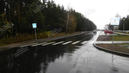 В Осиповичах водитель Renault сбил девушку
