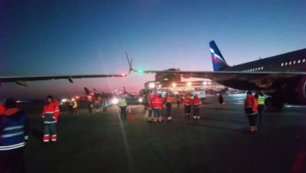 ЧП в Шереметьево: прилетевший из Минска Airbus A-320 задел другой самолёт