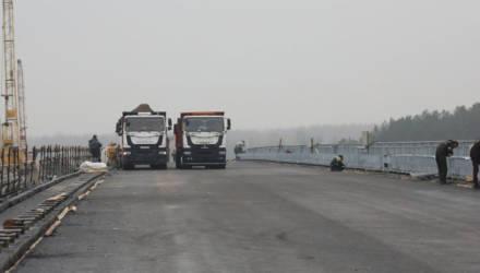 Движение по мосту через реку Сож открыли в Славгородском районе