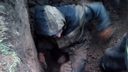 В Белыничах при проведении строительных работ мужчину засыпало землей