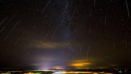 Мощный метеорный поток смогут увидеть белорусы 13 декабря