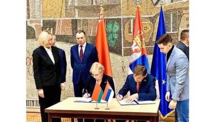 """""""Бобруйскагромаш"""" поставит в Сербию в 2020 году сельхозтехнику более чем на 500 тыс. евро"""