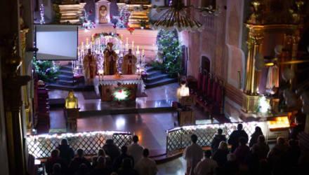 ФОТОРЕПОРТАЖ. Католики Могилёва празднуют Рождество