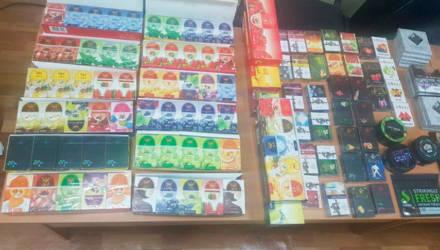 Около 12,5 кг табака для кальяна изъяли в Быхове