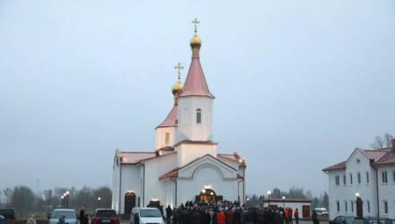 Новый храм освятили в Могилёвском районе