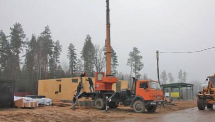 В Могилёвском районе реализуется инвестпроект – строительство питомника Могилёвского лесхоза (фото)