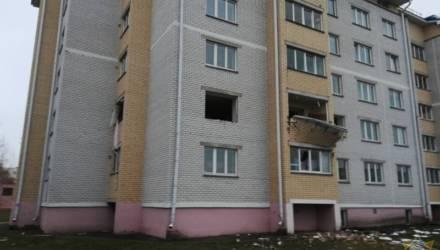 В Дрогичине в многоэтажке при монтаже натяжного потолка прогремел взрыв