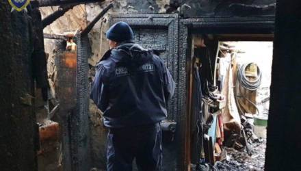 В Шклове в результате пожара погибли мать и сын