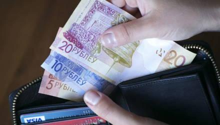 В Беларуси 37,5% работников получают зарплату выше 1 тысячи рублей