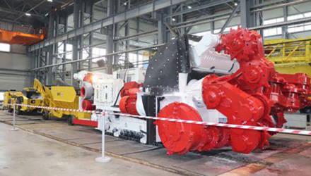 Могилёвский «Завод горного машиностроения» принял участие в создании нового проходческо-очистного комплекса для рудников