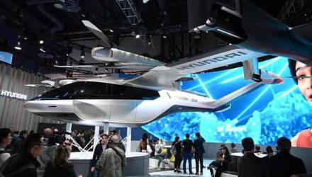 В Лас-Вегасе представили новую модель летающего автомобиля