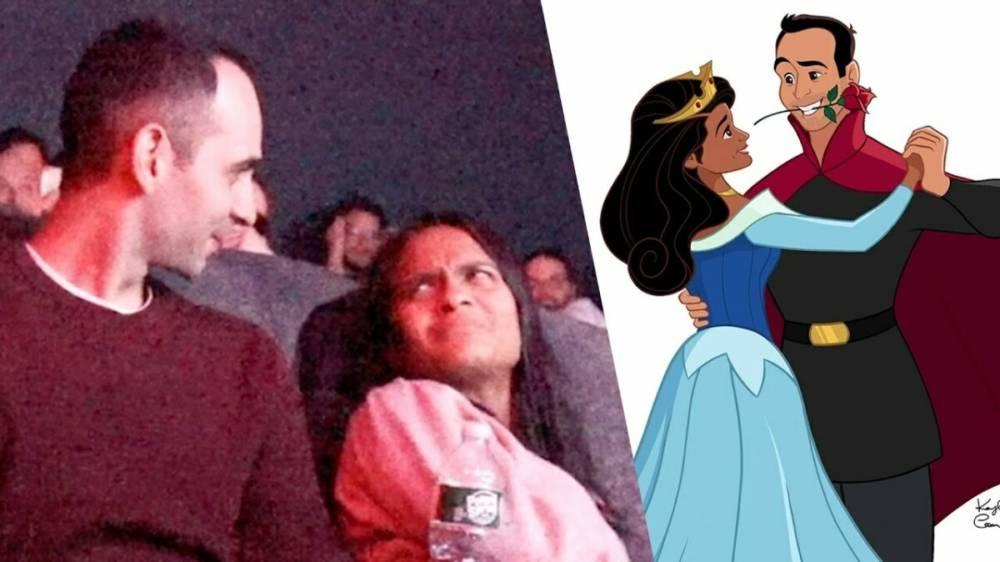 Житель Нью-Йорка заменил героев «Спящей красавицы» на себя и свою девушку, чтобы сделать ей предложение