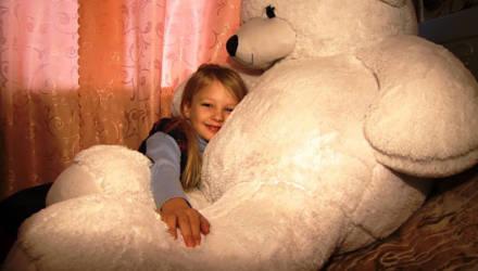 Сбылась мечта 7-летней Софии Грековой из Горок (видео)