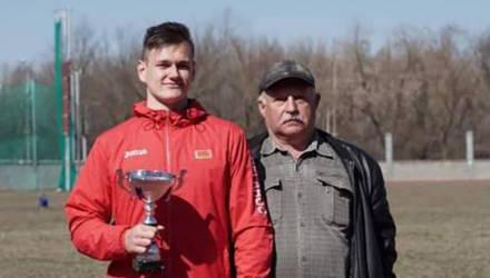 Могилёвский спортсмен признан лучшим легкоатлетом Беларуси среди юношей