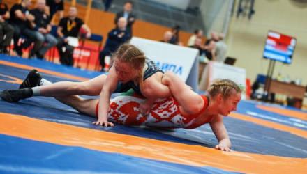 Сборная Могилёвской области победила на чемпионате Беларуси по женской борьбе