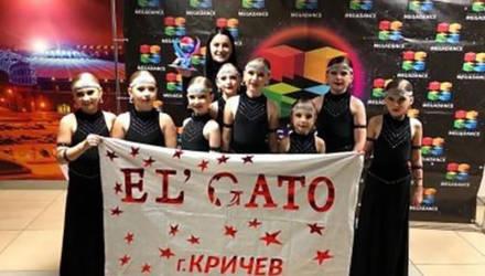Награды международных конкурсов завоевал детский хореографический коллектив из Кричева