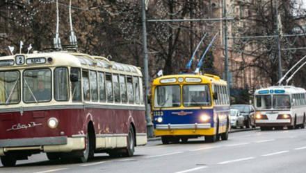 Парад троллейбусов пройдёт в Могилёве