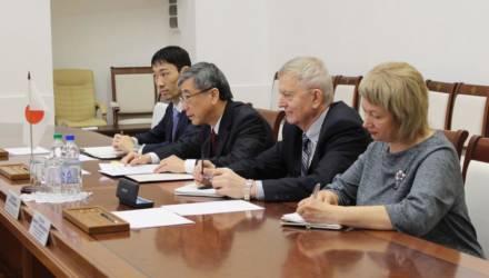 Могилёвская область заинтересована в расширении сотрудничества с Японией