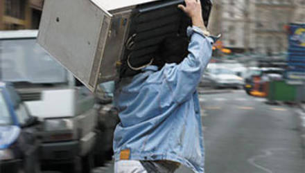 Могилевчанин продал взятый в лизинг холодильник