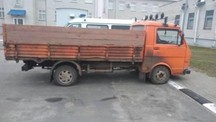Грузовик с ломом чермета задержали в Костюковичском районе