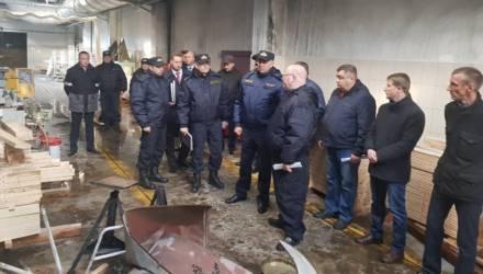Взрыв на ОАО «Могилевдрев»: расследование завершено