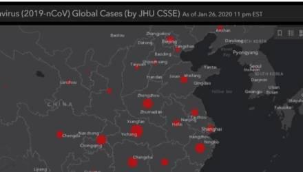 Отследить, как распространяется коронавирус по планете, теперь можно онлайн