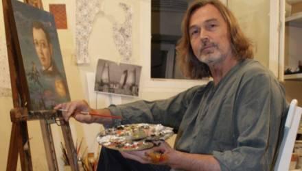 Персональная выставка работ Никаса Сафронова готовится к открытию в музее Масленикова в Могилёве