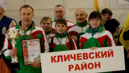 Команда Кличевского района победила на спартакиаде депутатского корпуса Могилёвской области (фото)