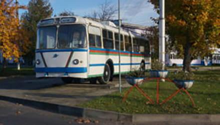 Могилёвский троллейбус отправился в шестое десятилетие