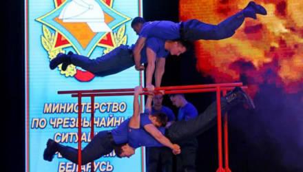 Турнир пожарных-спасателей стартовал в Бобруйске (фото)