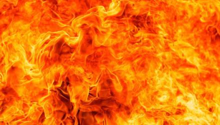 В котельной торгового павильона в Мстиславле произошел пожар