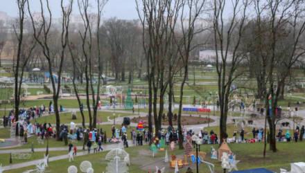 Передвижные торговые точки продолжат работу в парке Подниколья Могилёва