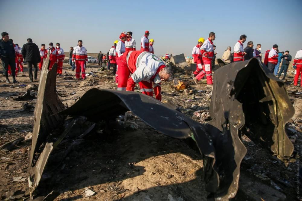 В Тегеране рухнул украинский самолёт