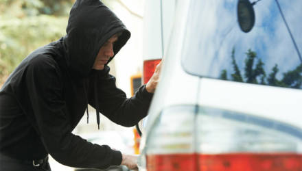 Житель Бобруйска пытался угнать машину, но угодил в «капкан». Тогда он украл выручку из маршрутки