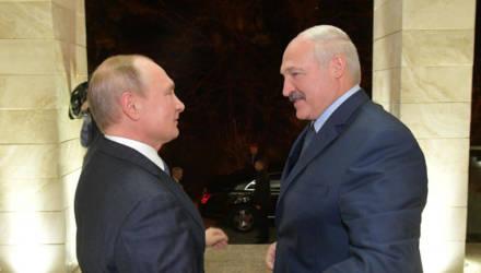 Лукашенко и Путин проводят встречу тет-а-тет в Сочи