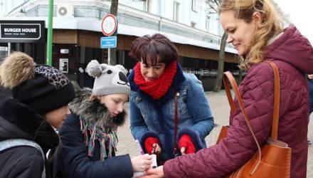 Литературный квест и диктант провели в День родного языка в Могилёве