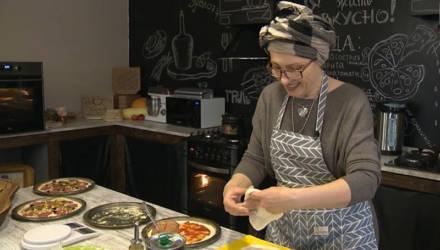 В Мстиславском районе открылась первая деревенская пиццерия (видео)