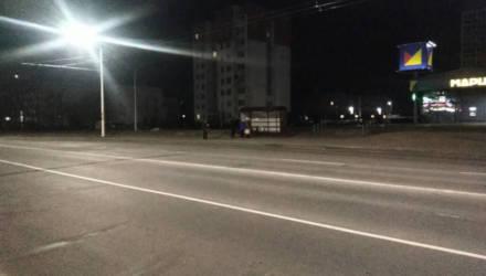 Жительница Бобруйска выпала из автобуса на проезжую часть