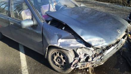 В аварии под Могилёвом пострадали двое малолетних детей